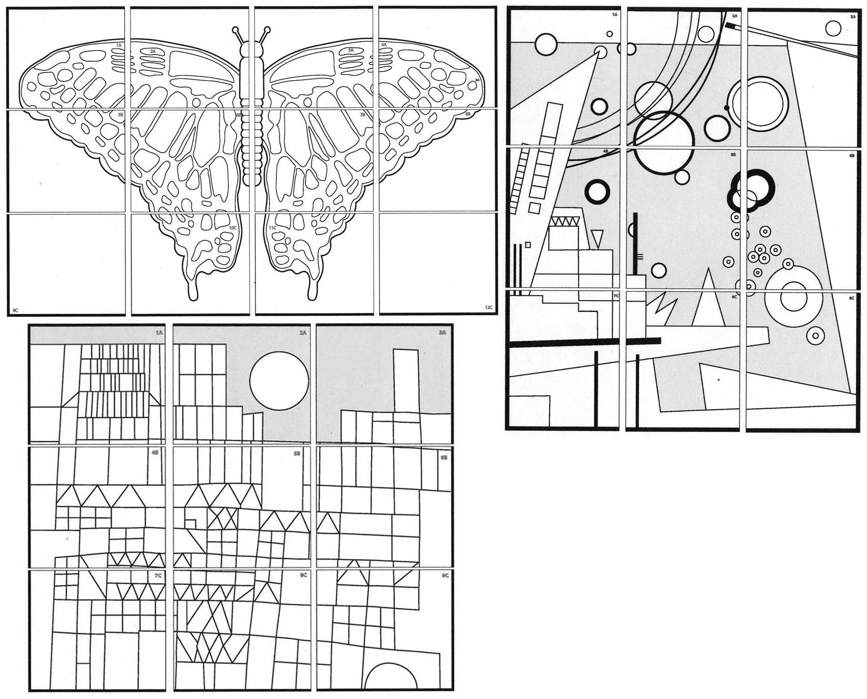 free coloring pages of mural diagram