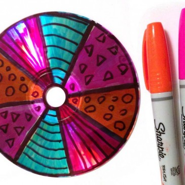CDs and Markers
