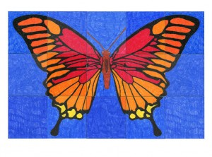 Canvas Butterfly