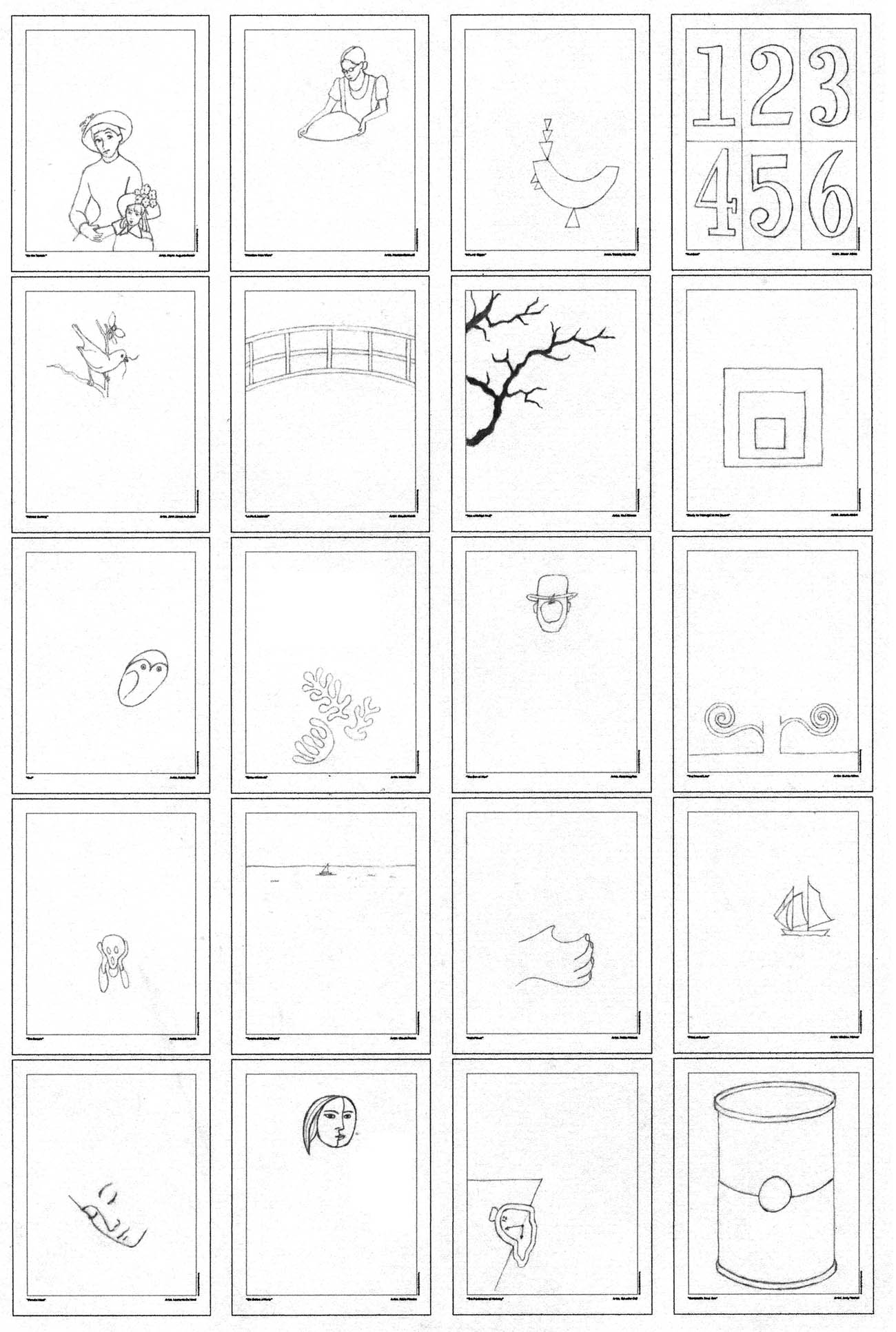 The coloring book e book - Coloring Book 4 Diagram