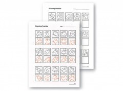 Drawing Practice Sheets 3 – 5