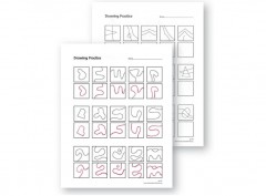 Drawing Practice Sheets K – 2