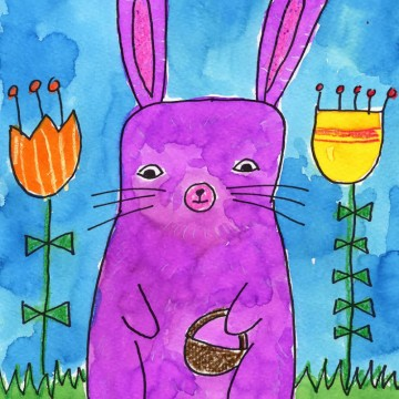 Draw an Easter Bunny