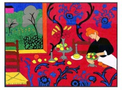 Matisse Red Room Mural