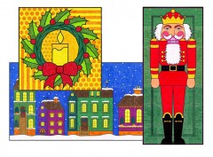 Mini Christmas Murals Two