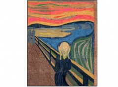 Munch's The Scream Mural