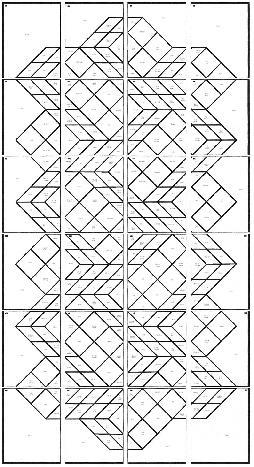 vasarely coloring pages - photo#8