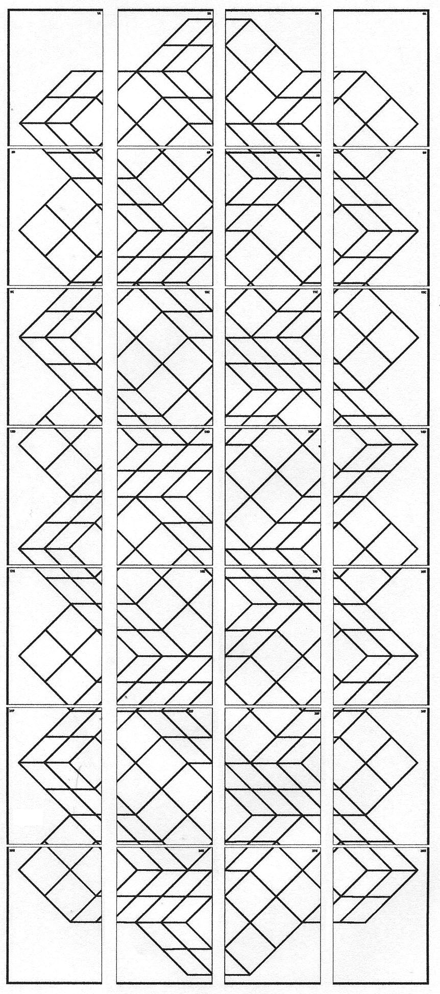 Free coloring pages of op art as paint for Op art coloring pages
