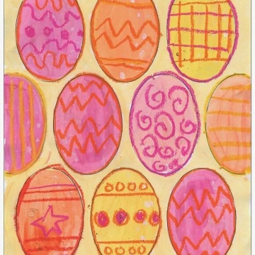 Pastel and Pattern Eggs