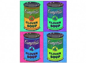 Warhol Soup Can collaborative art project