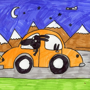Cartoon Car by Cassius
