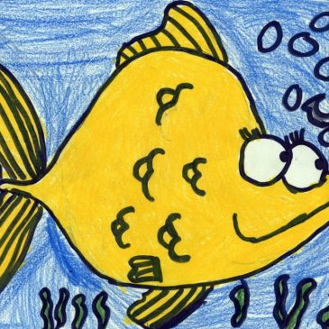 Draw a Cartoon Fish