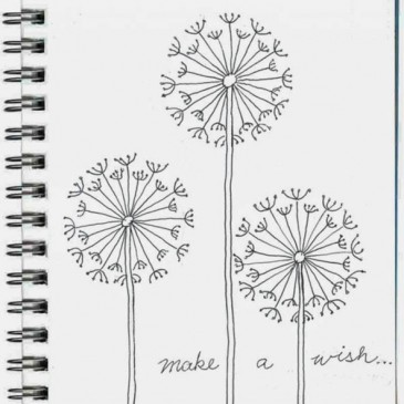 View by theme archives page 5 of 10 art projects for kids for How to draw a dandelion step by step