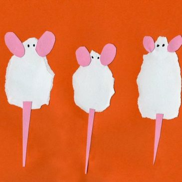Three Torn Mice