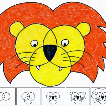 Three Circle Lion