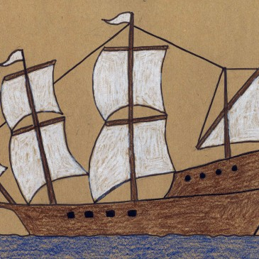 Draw the Mayflower