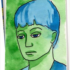 Picasso Blue Portrait