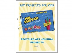 Recycled Art Journal Book 1