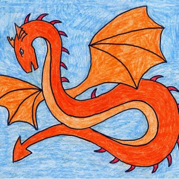 Draw a Spiked Dragon