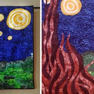 Award-Winning Starry Night Quilt