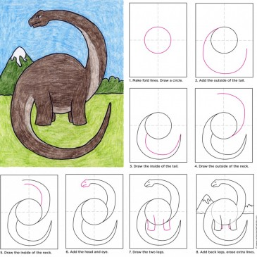 Draw a Diplodocus