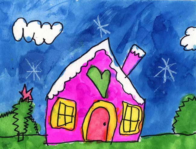 callista s house   art projects for kids
