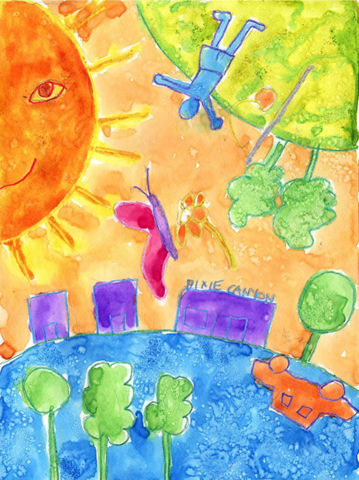 Chagall painting art projects for kids for Painting projects for kids