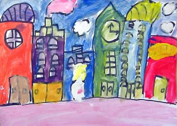 Easy Cityscape Painting