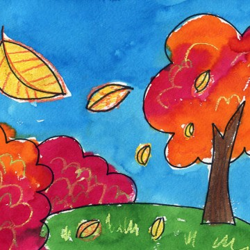 Draw a Fall Landscape