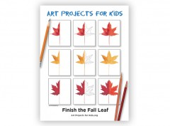 Finish the Fall Leaf