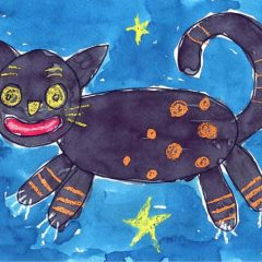 Another Folk Art Cat