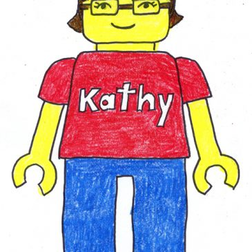 Lego Self Portrait