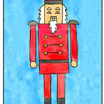 How to Draw a Nutcracker