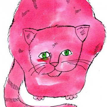 Warhol Cat Drawing
