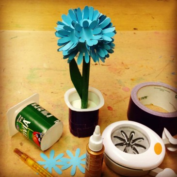 Chrysanthemum Flower Craft