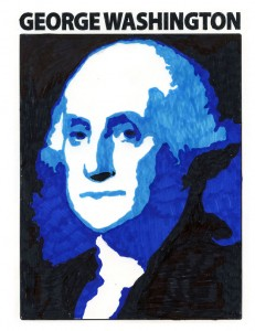 George Washington colored