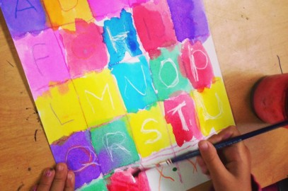Fundraiser Painting for Little Artists