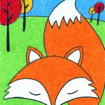 Draw a Cartoon Fox