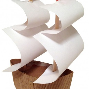 Mayflower Ship Craft Project