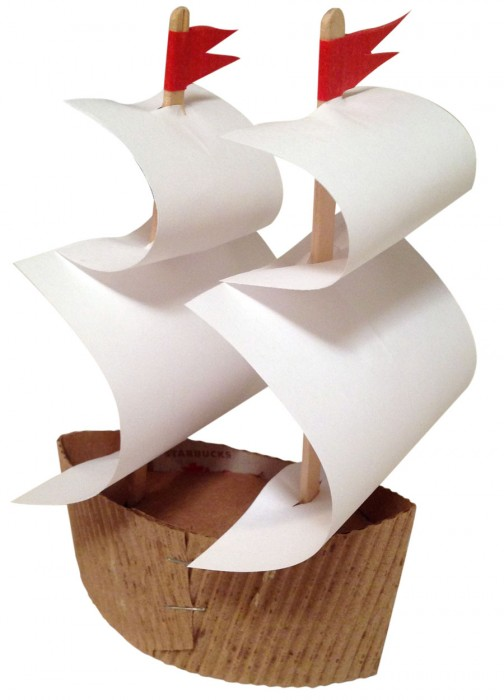 Mayflower Ship Arts And Crafts