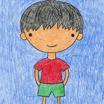 Draw a Cartoon Boy