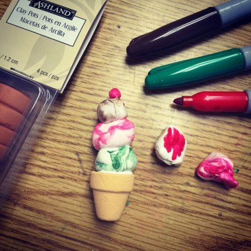 Miniature Ice Cream Cones