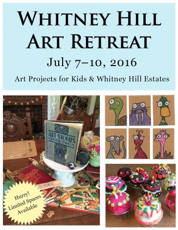 The Art Retreat 3 Weeks Away!