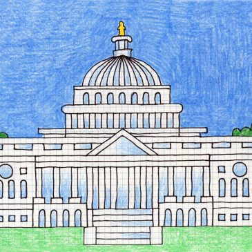 Draw the US Capitol