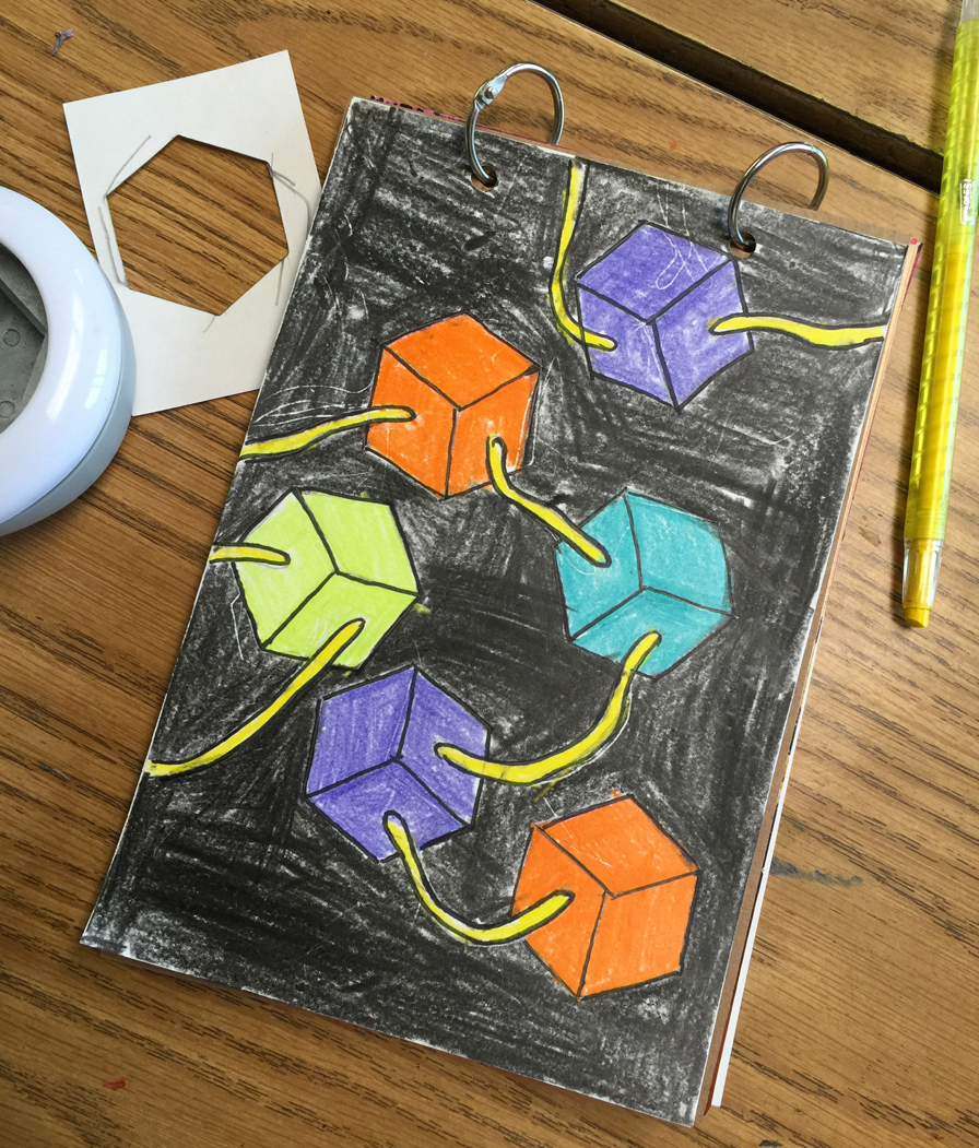 Shape Form And Space In Art : Shapes into forms art projects for kids lovin