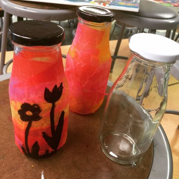 Milk Bottle Jars