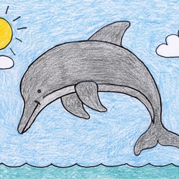 Draw a Dolphin