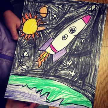 Ellie's Rocket Ship