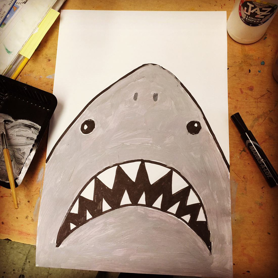 shark projects for preschoolers paint a shark projects for 719