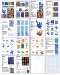 Common Core art projects diagram